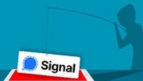 Application Signal : NON, vous n'avez PAS gagné un iPhone !